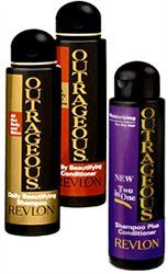 Revlon Outrageous Shampoo & Conditioner - Smells so freaking amazing!!!!  Me and my sister were obsessed with this! haha :)