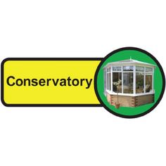 Conservatory Dementia Sign, help people with dementia and sight problems by displaying these 'Conservatory Dementia' signs around your premises, they assist in maintaining their independence, just peel off the backing strip and stick to your doors. Signs Of Dementia, Plastic Signs, Nursing Homes, Sign Materials, Hospitals, Conservatory, Sign Design, Adhesive Vinyl, Helping People