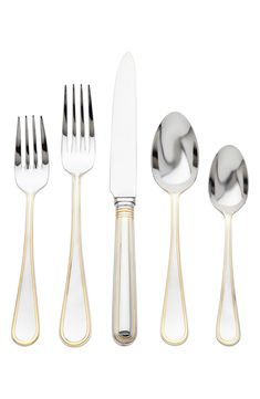 Imperia by Ricci Casa Stainless Steel Flatware Set For 12 Service 65 Pieces New