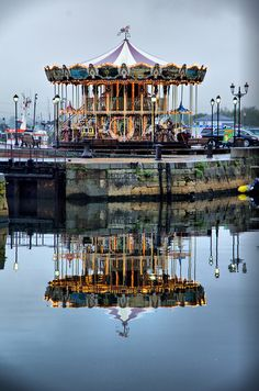 Carousel, Honfleur, France.  Rode that when i was there seven years ago.
