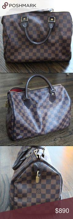 Louis Vuitton Speedy 30 Bag In overall good condition Louis Vuitton Bags Satchels