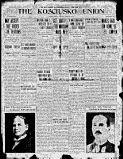 KOSCIUSKO COUNTY, Indiana - Warsaw -The Kosciusko Union - 1915-1916