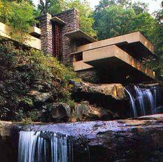 La casa de la cascada, Wright