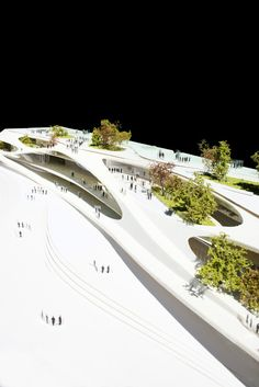 San Berillo Master Plan :The neighbourhood of San Berillo in Catania, Sicilly has always had a negative reputation. An ample demolition took place here in 1 Conceptual Architecture, Landscape Architecture Design, Green Architecture, Architecture Details, Gothic Architecture, Ancient Architecture, Landscape Model, Urban Landscape, Architectural Design Studio