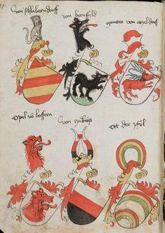 Wappenbuch des St. Galler Abtes Ulrich Rösch Heidelberg · 15. Jahrhundert Cod. Sang. 1084  Folio 97