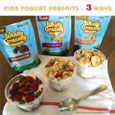 Kids Yogurt Parfaits