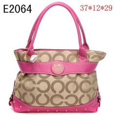 Coach Alexandra Op Art Glam Tote Pink 1936 is on promation, don't loss the chance.