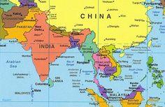 Nepal mapa mundi