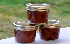 Rhubarb Blueberry Cinnamon Honey Jam