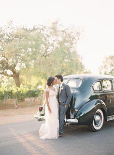 Santa Ynez Rustic Wedding via once wed