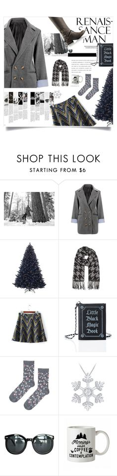 """Yoins:Duffel Coat & woolen skirt-Christmas"" by yoinscollection ❤ liked on Polyvore featuring SOREL, Current Mood, Topshop and Chicnova Fashion"