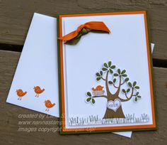 Stampin' with Nanna: A Double Bow Card