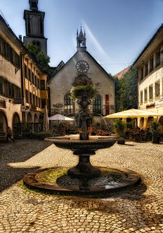 """Feldkirch, Austria II"" by Mark G. on - Feldkirch, Austria Beautiful Places To Visit, Wonderful Places, Cool Places To Visit, Beautiful World, Places To Travel, Visit Austria, Austria Travel, Malta, Europe Centrale"