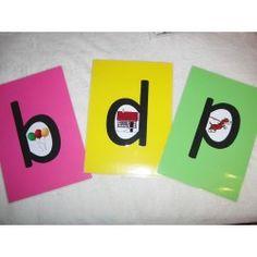 b, d, p Dyslexia, Comic