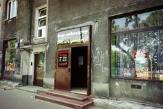 """Bar Mleczny """"Marymont"""" / """"Marymont"""" Milk Bar - entrance is terrible but inside looks much better"""