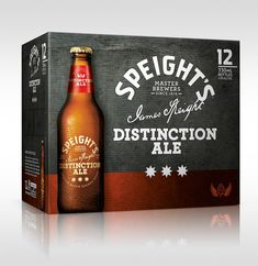 Discover more of the best Beer, Packaging, Speight, Distinction, and Ale inspiration on Designspiration Beverage Packaging, Bottle Packaging, Brand Packaging, Packaging Design, Branding Design, Ale, Carton Design, Alcohol Bottles, Best Beer