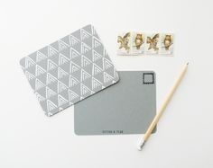 Grey Mountain Postcards - Cotton & Flax