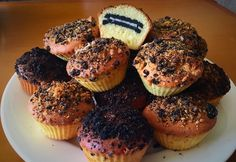 12 irtó finom csokis muffin bő fél óra alatt Oreo, Muffins, Breakfast, Food, Morning Coffee, Muffin, Essen, Meals, Yemek