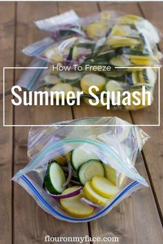 How to Freeze Squash Now that the farmers markets are open all around the country buying fresh vegetables is one of life's simple pleasures. When you shop sales or farmers markets for fresh squash you need a simple way to make sure the squash is going to last long enough to use in your favorite...Read More »