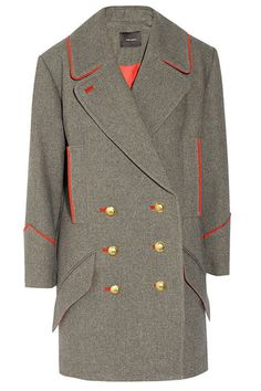Isabel Marant - Best Military-Inspired Coats for Fall 2012