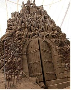 Dante's Inferno Sand Sculptures Journeys to Hell on Earth #architecture #uniquearchitecture