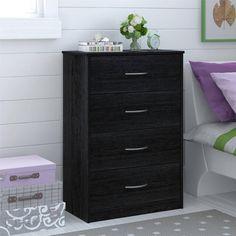 Mainstays 4-Drawer Dresser, Multiple Finishes - Walmart.com