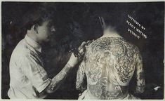 Photo of early 20th century tattoo artist Percy Waters