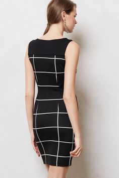 Paned Hourglass Column Dress - anthropologie.com