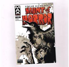 HAUNT OF HORROR EDGAR ALLAN POE 3 Part Anthology Series From Marvel MAX