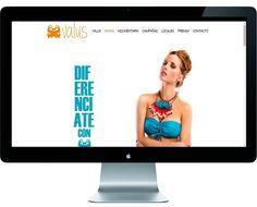 Valus Bikinis | actualización en diseño web + contenidos + creatividad + SEO. www.valus.com.ar