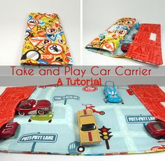 Sisters, Sisters: Take and Play Car Carrier Tutorial
