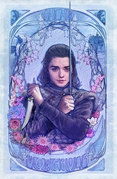 'Game Of Thrones: Arya Stark' print by Mona Fuchs (Sansho)You can find Valar morghulis and more on our website.'Game Of Thrones: Arya Stark' print by Mona Fuchs (Sansho) Dessin Game Of Thrones, Arte Game Of Thrones, Game Of Thrones Artwork, Game Of Thrones Arya, Game Of Thrones Poster, Game Of Thrones Funny, Valar Morghulis, Arya Stark Art, Animation In Photoshop