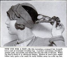 I would do this.  1930 image from Popular Science Monthly.