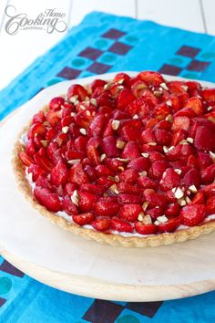 Strawberry Tart - such an amazing delicious recipe