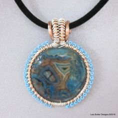 Unique handcrafted triangle jewelry, wire-woven, wire-wrapped ...