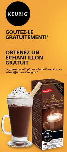 Laura Secord, K Cups, Site Web, Keurig, Coupons, Free Samples, Cups, Music, Projects
