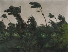 Félix Vallotton, The Wind, 1910, Oil on canvas, 89,2 x 116,2 cm, The National Gallery of Art, Washington
