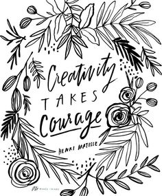 Just a reminder to all my Bible journaling beauties: Creativity takes courage. Don't be afraid to let your feet wander with God.