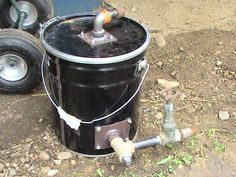 Gazogène à charbon pour exécuter de petits moteurs | Earthineer