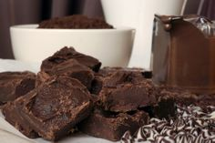 Three Chocolate Fudge Recipe - Easy Fudge Recipe