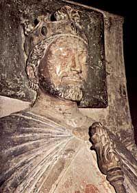 Richard I (1157 - 1199) The Lionheart- buried with his parents.  Fontevraud-l'Abbaye Departement de Maine-et-Loire Pays de la Loire, France