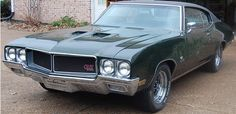 1970 Buick Skylark GS Stage 1   Factory Stage 1 4 speed car with a/c, buckets, tach and gauges.