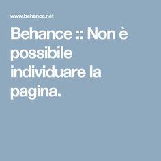 Behance :: Non è possibile individuare la pagina.