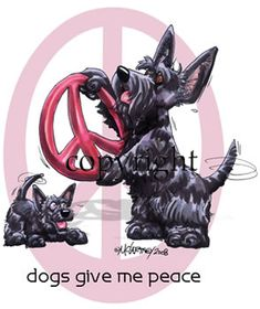 Scottish Terrier - Peace Dog