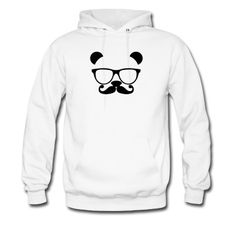 Panda with glasses and mustache T-Shirt