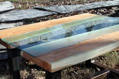 Solid Cherry River Table