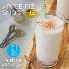 21DSD Recipe: Apple Pie Smoothie   The 21-Day Sugar Detox by Diane Sanfilippo