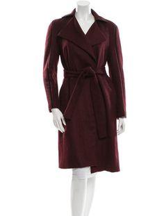 Gucci Textured Trimmed Coat