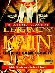 Blood Omen: Legacy of Kain: Official Game Secrets Strategy Guide (Secrets of the Games Series)
