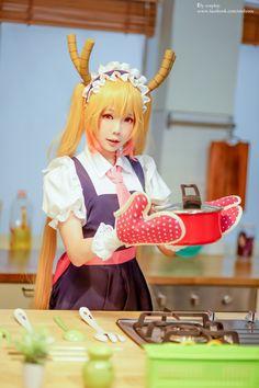 Tohru cosplay kobayashi san chii no maid dragon